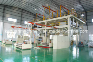 Semi-Automatic PP Spunbond Nonwoven Fabric Making Machine pictures & photos