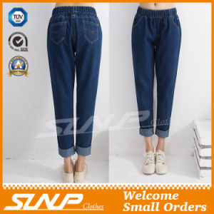 Europe Style Denim Jeans Nine Pants Clothing for Woman Girls