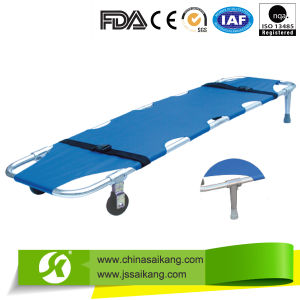 Aluminum Alloy Foldable Stretcher (CE/FDA/ISO) pictures & photos