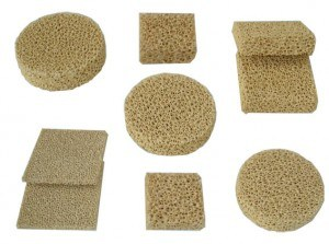 Carborundum Foam Ceramic Filter pictures & photos