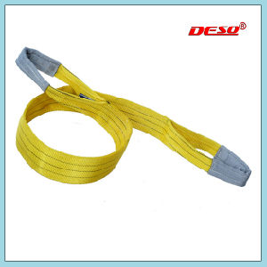 8 Ton Safety Flat Webbing Sling with Eye pictures & photos