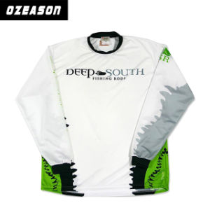 Customized Long Sleeve UV Protection Fishing Shirts for Children (F025) pictures & photos
