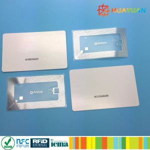 13.56MHz ISO14443A MIFARE Ultralight C RFID Paper Transport ticket Card pictures & photos