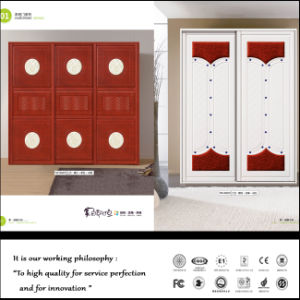PVC Vacuum Door for Kitchen Cabinet (FY089) pictures & photos