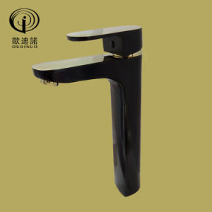 Black Painted and Gold Finished Shower Mixer Odn-67013 pictures & photos