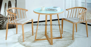Modern Dining Table and Chair Set for Home &Public Furniture (LL-WST011) pictures & photos