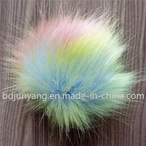 Handmade Faux Mix Colors Fur Keychain pictures & photos