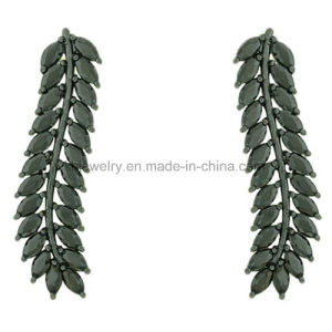 High Quality Feather Style Colorful Party Earrings (KE3115) pictures & photos