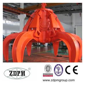 Electric Motor Hydraulic Orange Peel Grab Bucket pictures & photos