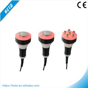 Portable 5 Cavitation RF Head 6pads 650nm Laser Beauty Equipment H-1004b pictures & photos
