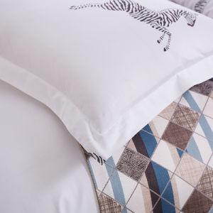 Manufacturer Luxury Cotton Apartment Printed Bedding Set pictures & photos