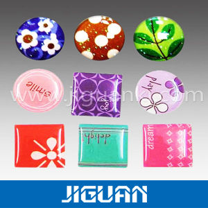 Custom Printing Neil Cuting Waterproof Crystal Epoxy Dome Sticker pictures & photos
