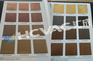 Titanium Gold/Blue/Black/Colorful Stainless Steel Sheet PVD Coating Plant pictures & photos