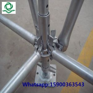 Painted Steel Scaffold Ringlock System pictures & photos