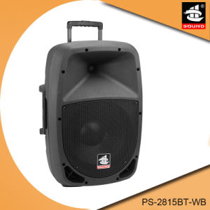 15 Inch Portable Self- Powered PA System Amplifier Multifunction Bluetooth Speaker pictures & photos
