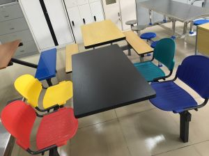 Durable Dining Table and Chair Set for Restaurant (DT-03) pictures & photos