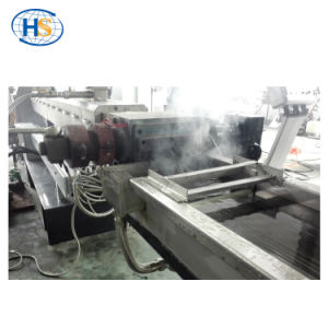 Non Woven Filler Masterbatch Plastic Granules Production Line pictures & photos