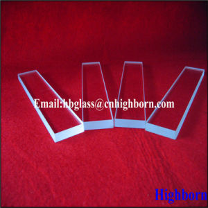 High Purity Clear Square Silica Quartz Glass Slide pictures & photos
