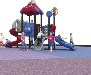 Customized Kids Outdoor Plastic Slides Playground pictures & photos