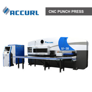 Siemens Electrical 50t CNC Punch Press Machine pictures & photos