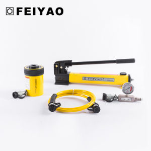 100 Tons Single Acting Hollow Plunger Hydraulic Cylinder (FY-RCH) pictures & photos