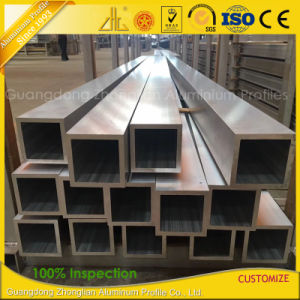 Factory Anodized Sand Blasting Aluminium Aluminum Extrusion Tube Pipe pictures & photos