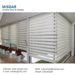 Electric Double Roller Blinds for Window Treatment pictures & photos