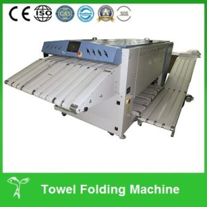 Industrial Used Hospital Towel Folding Machine pictures & photos