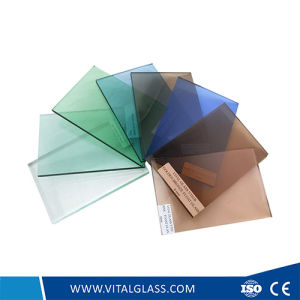 Tinted Colored Plain/Float Glass for Building Glass with CE& ISO9001 pictures & photos