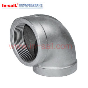 PT Threaded Tapped Casting 90 Deg Elbow for Pipe pictures & photos