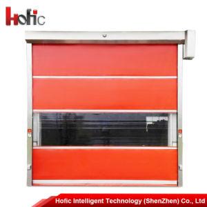 Industrial PVC Rolling up High Speed Rolling Door pictures & photos