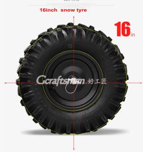 "375cc 30"" Chain Drive Snow Sweeper pictures & photos"