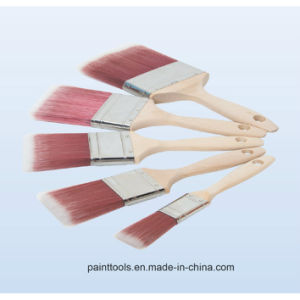 Beavertail Paint Brush with Wood Handle B011 pictures & photos