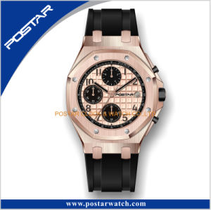 Japan Chronograph Diver Waterproof Oak Band Fashion Sport Wrist Watch pictures & photos