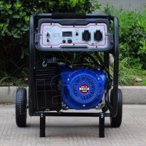 Bison AC Single Phase Air Cooled Portable 5kw Gasoline Generator pictures & photos