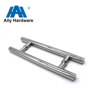 Stainless Steel H Shape Door Pull Handle (HSS-007) pictures & photos