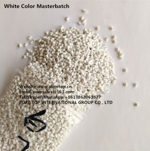 PP-R Special Used White Color Master Batch for Injection and Extrusion pictures & photos