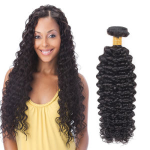 Factory Price Brazilian Human Hair Weave Deep Curly 20inches pictures & photos
