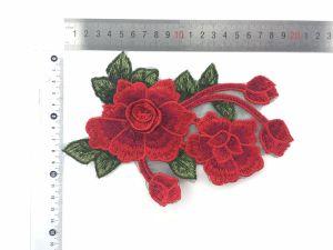 Hot Sale 3D Flower Embroidery Patch/Applique Fro Dress/Clothes pictures & photos