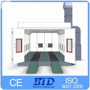 China Btd Europe Design Spray Booth Paint Booth For Sale