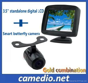"3.5inch Digital Car Rear View System (3.5"" digital LCD+universal car camera) pictures & photos"