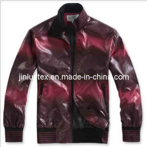 Oil and Printed Fabric /Jacket Fabric