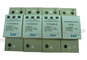SPD/Power Surge Protector/Surge Arrester (TCPA80-B/3+NPE)