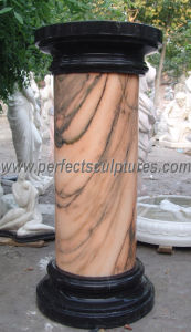 Stone Marble Granite Sandstone Hollow Roman Columns (QCM041) pictures & photos
