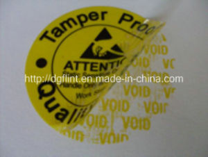 Low Residue Tamper Evident Labels -2