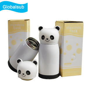 Custom Photo Printed Children′s Water Bottles with Panda Lid pictures & photos