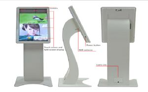 "32"" Floor Standing Touch Interactive LCD Kiosk pictures & photos"