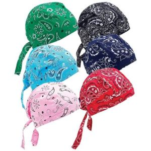 Factory OEM Produce Custom Logo Paisley Printed Biker Skull Pirate Head Wrap Bandana pictures & photos