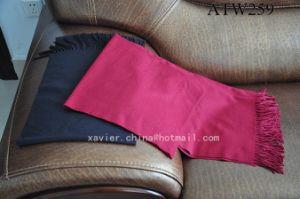 Soft Nap Throw Blanket/ Solid Plaid (ATW259)