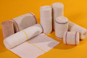 Elastic Crepe Bandage by CE/ISO Approved pictures & photos
